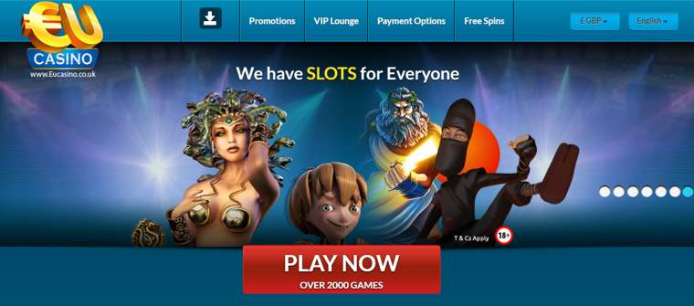 EU Casino Lanserad år 2009, EUCasino drivs av det Malta-baserade SkillOnNet Ltd