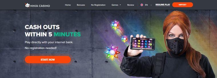 Ninja Casino drivs av det Malta-baserade SafeEnt Ltd.